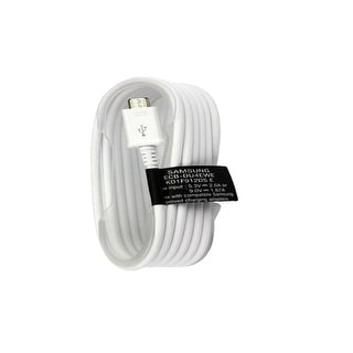 Samsung Original 5ft. Sync Charge Micro USB Data Cable, 1 Pack, White