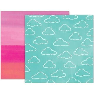 """Summer Lights Double-Sided Cardstock 12""""X12""""-#05"""