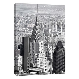 """PTM Images 9-106006  PTM Canvas Collection 10"""" x 8"""" - """"Chrysler Building"""" Giclee Chrysler Building Art Print on Canvas"""
