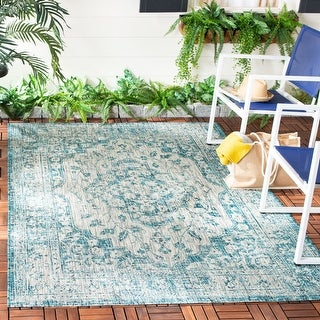 Safavieh Courtyard Jacque Indoor/ Outdoor Rug