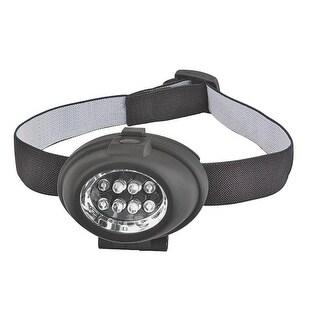 Power Zone ORLEDHL01 Headband Flashlights, 16 Lumens, 3AAA, 8 LED
