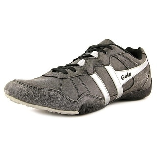 Gola Coyote Men   Leather Black Fashion Sneakers