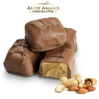 Andy Anand Sugar Free Milk Chocolate Peanut Butter Meltaways 1 lbs