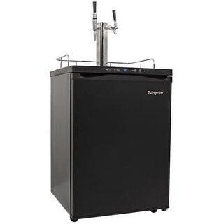 EdgeStar KC3000BC 24 Inch Wide Stout Kegerator with Digital Display