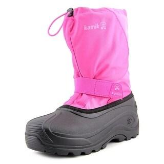Kamik Snowfox Youth Round Toe Synthetic Winter Boot