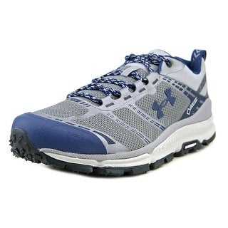 Under Armour Verge Low Gore-Tex Men Round Toe Synthetic Gray Hiking Shoe