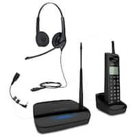 Engenius FREESTYL 2-Headset Bundle Extreme Range Cordless Phone System