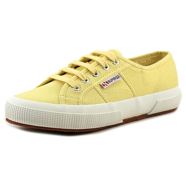 Superga Cotu Classic Women Round Toe Synthetic Yellow Sneakers