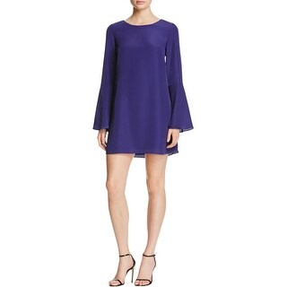 Likely Womens Perry Cocktail Dress Chiffon Bell Sleeve