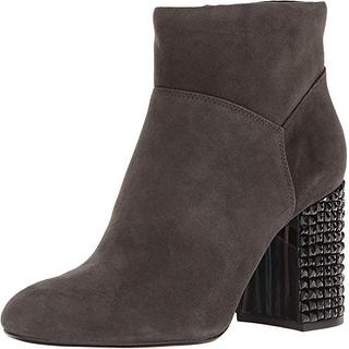 MICHAEL Michael Kors Womens Arabella Leather Closed Toe Ankle Fashion Boots F...
