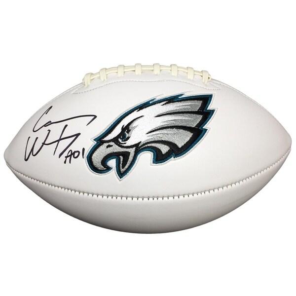 4dc3591f549 Shop Carson Wentz Signed Autographed Philadelphia Eagles Logo Football  Fanatics - Free Shipping Today - Overstock - 14552613