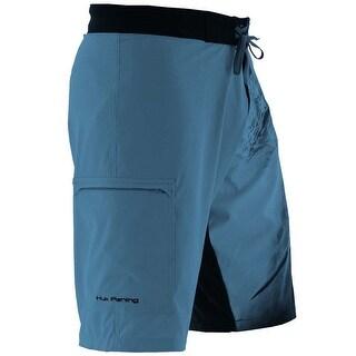 Huk Men's KC Scott Northdrop Marlin Carolina Blue Size 28 Board Shorts