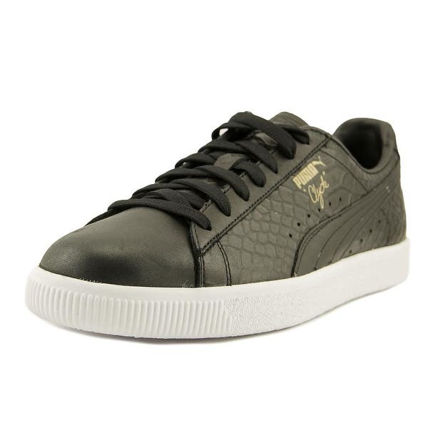 c874a9b39209 Shop Puma Clyde Dressed Men Black Sneakers Shoes - Free Shipping ...