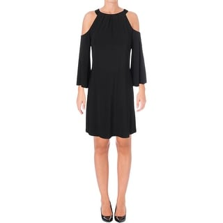 Shop Lauren Ralph Lauren Womens Pansy Cocktail Dress A-Line Cold Shoulder -  Free Shipping On Orders Over  45 - Overstock - 25744846 7e24d491e