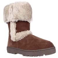 SC35 Witty Winter Boots, Chestnut