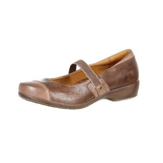 4EurSole Casual Shoes Womens Minuet Gore Mary Jane Brown RKH123