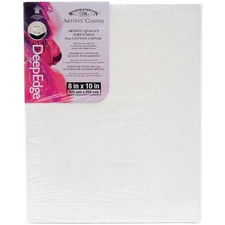 """Artists' Quality Deep Edge Stretched Canvas-8""""X10"""""""