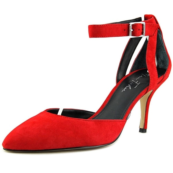Marc Fisher Hien Pointed Toe Suede Heels