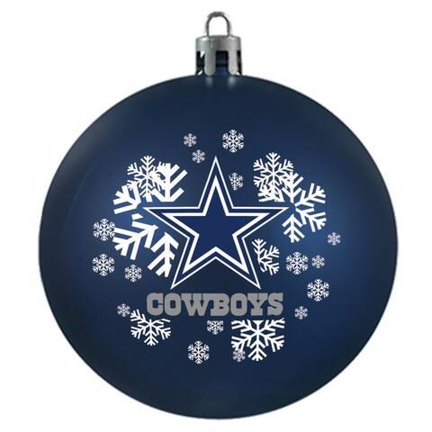 Dallas Cowboys Shatterproof Ornament