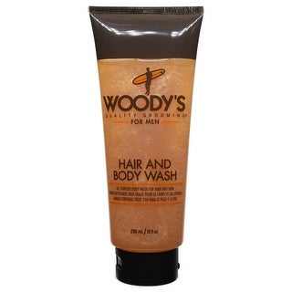 Woody's For Men Hair and Body Wash 10 fl oz