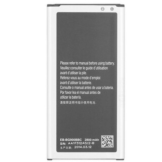 Replacement EB-BG900BBU Battery for Samsung Galaxy S5 Cell Phone Models