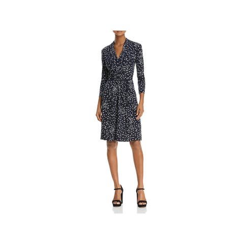French Connection Womens Wear to Work Dress Komo Jersey