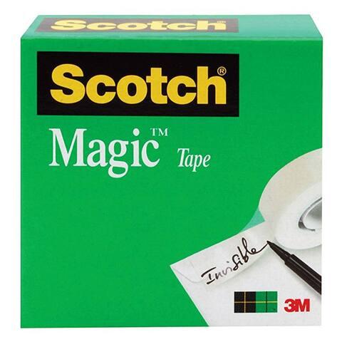 "Scotch 810 Magic Tape Refill Roll, 3/4"" x 36 Yd, Transparent"