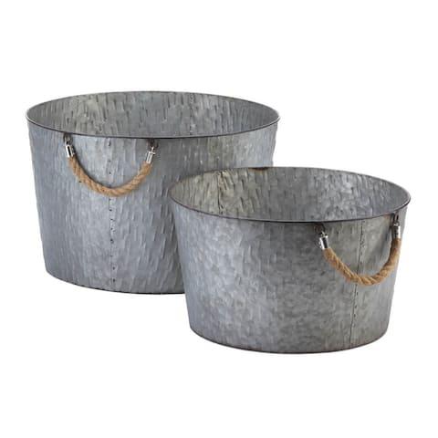Galvanized Textured Buckets