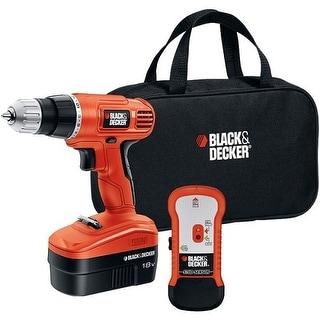 Black & Decker BDKGCO18SFBM 18-Volt Cordless Drill and Stud Sensor Kit Black and Decker 18-Volt Cordless Drill and Stud Sensor