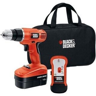 """Black & Decker BDKGCO18SFBM 18-Volt Cordless Drill and Stud Sensor Kit Black and Decker 18-Volt Cordless Drill and Stud Sensor"