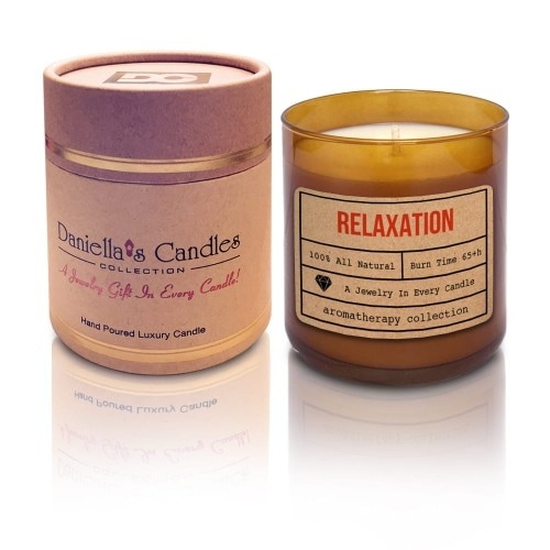 Relaxation Aromatherapy Spa Jewelry Candle - Necklace