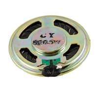 Unique Bargains 40mm Round Aluminum Shell Magnetic Type Speaker Horn 8 Ohm 0.5W Rihoo