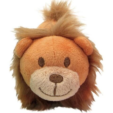 """Li'l Pals 4.5"""" Plush Dog Toy-Lion - Brown"""