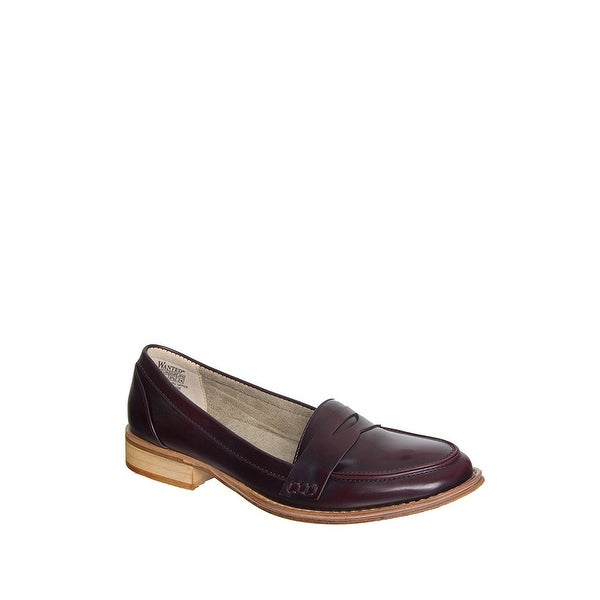 Wanted Shoes Womens Campus Round Toe Loafers