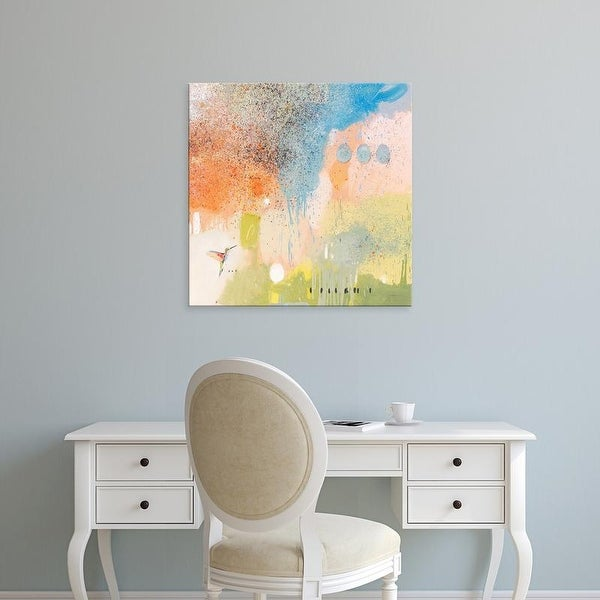 Easy Art Prints Anthony Grant's 'Hummingbird At Home 1' Premium Canvas Art