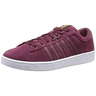 K-Swiss Womens Hoke Suede Memory Foam Casual Shoes - 7 medium (b,m)