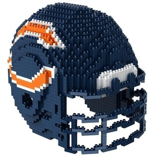 Chicago Bears 3D NFL BRXLZ Bricks Puzzle Team Helmet