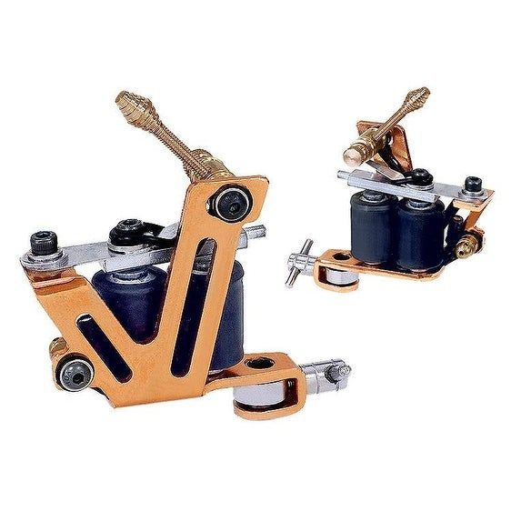 Afterlife Custom Irons Dual Coil Shader Liner Tattoo Machine - Copper