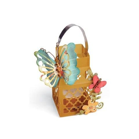 Sizzix LWhitlock Thinlits Die Butterfly Lantern