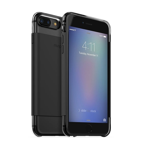 Mophie Hold Force Wrap Base Case for Apple iPhone 8 Plus & iPhone 7 Plus - Black
