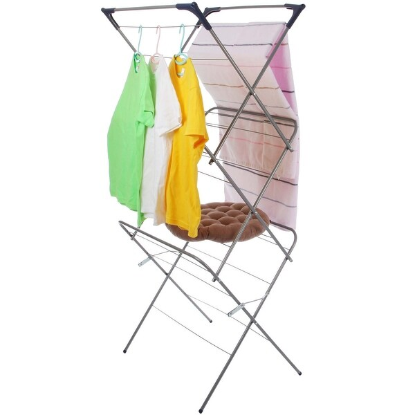VECELO Economic Stainless Steel Clothes Drying Rack