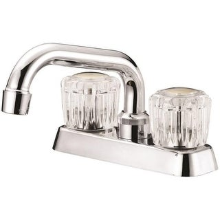 Boston Harbor FL010003CP Two Acrylic Handle Laundry Faucets, Chrome