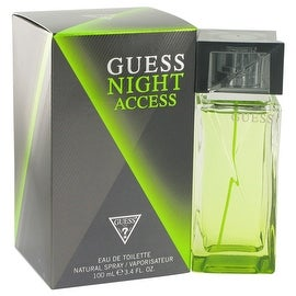 Guess Night Access by Guess Eau De Toilette Spray 3.4 oz - Men