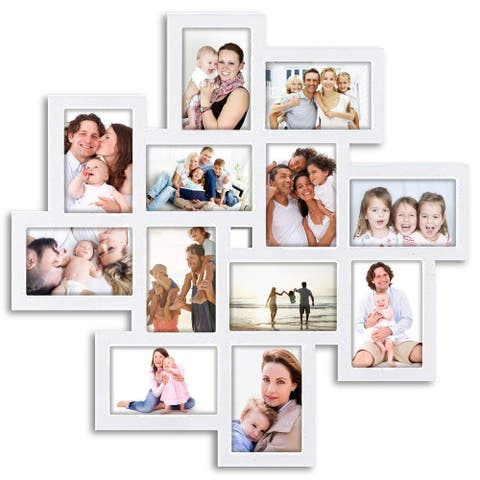 """Hello Laura L24"""" x H24"""" Gallery Collage Wall Hanging Photo Frame"""