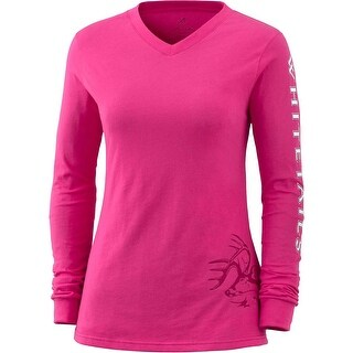 Legendary Whitetails Ladies Cotton Non-Typical Long Sleeve T-Shirt