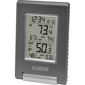 La Crosse Technology LCRWS9080UITCBPG La Crosse Technology Wireless Temperature Station