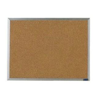 Aarco AB2436 24 x 36 Inch Economy Series Aluminum Frame Corkboard