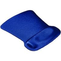Allsop 30193 Ergoprene Gel Mouse Pad With Wrist Rest - Blue