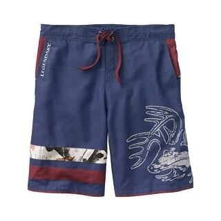 Legendary Whitetails Men's Freedom Swim Trunks - Ocean
