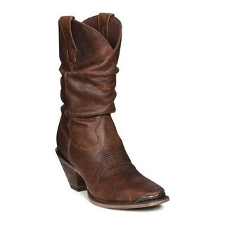 """Durango Boot Women's RD3494 10"""" Crush Brown"""